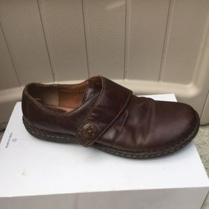 BOC Strap  Leather Loafers